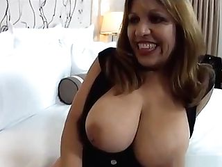 Massive Natural Tits Latina Mummy