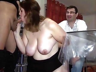 Ass Fucking For French Bbw In Front Of Her Spouse