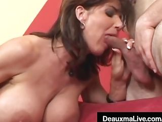 """horny Housewife Deauxma Gets Pounded Rectally & Gets Cummed On"""
