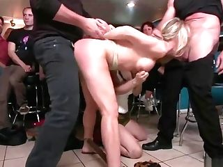 Blonde Fuckslut Disgraced
