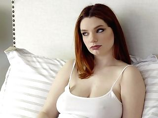 Ginger Stunner Annabel Redd Wakes Up Her Beau For Sultry Hookup Early In The Morning