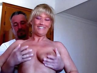 Two German Housewives Getting Indeed Deviant And Kinky - Maturenl